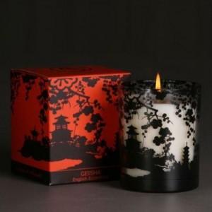 Гейша Ароматическая свеча