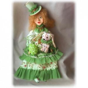 Будуарная кукла от Оксаны Могилевец