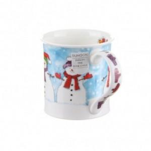 Dunoon Christmas Chums Snowman Bute shape Mug