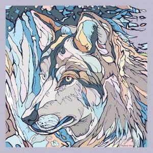 Платок Wolf (Волк)