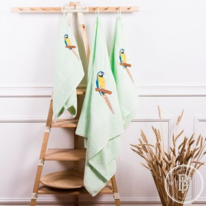 Полотенце Попугай Ара